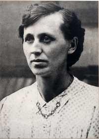 Erika Blas' mother circa 1917