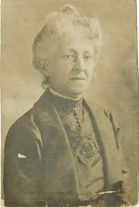 8. Photograph of Elderly Emeline Aubin Kinloch Craft