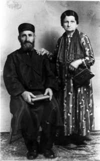 Harry Blas' grandparents, Israel and Liba Blass circa 1910