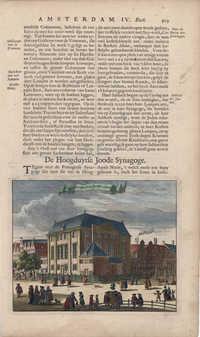De Hoogduytse Ioode Synagoge