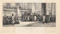 Le Sermon de Daïan Cardozo, Sinagogue d'Amsterdam