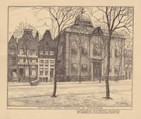Het Jonas Daniël Meyerplein te Amsterdam