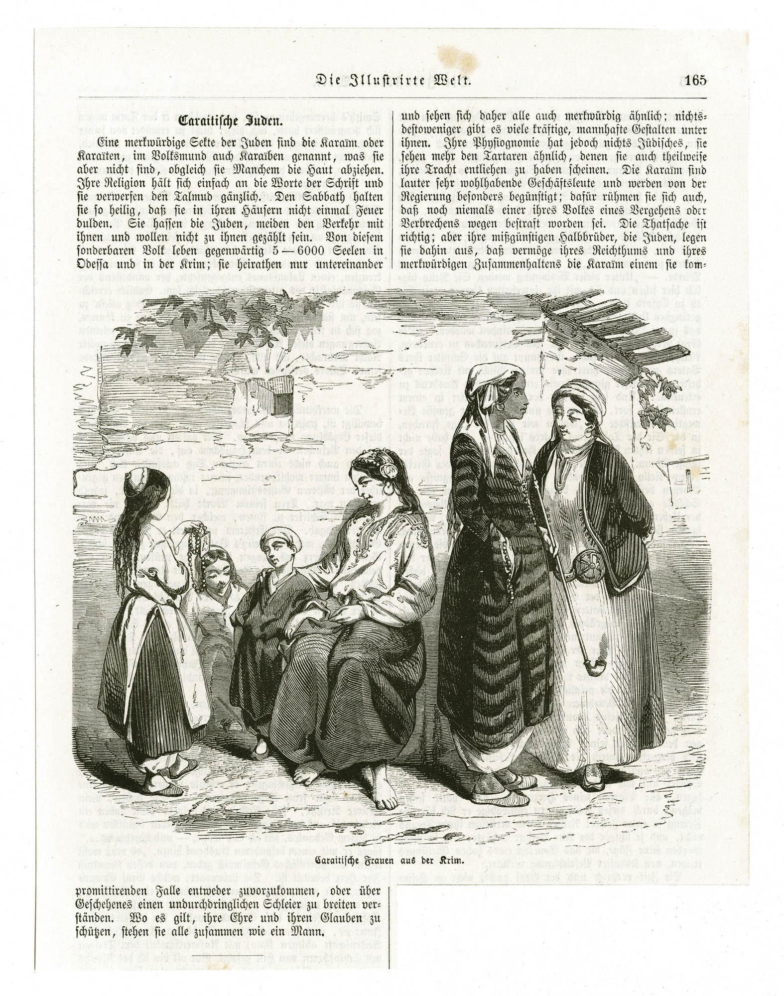 Caraitiche Frauen aus der Krim