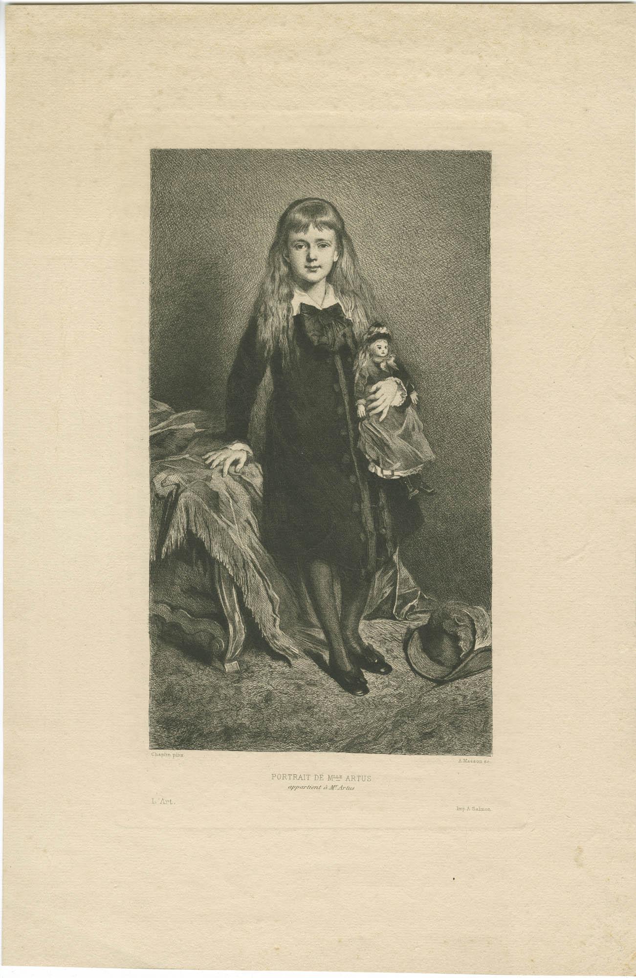 Portrait de Mlle Artus