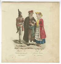 Juif et femme Juive de Cracovie