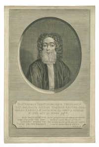 Doctissimus Peritissimusque Theologus D. D. Salomon Aelyon Maximus Amstælodamensis Rabinus Ætatis suæ 64