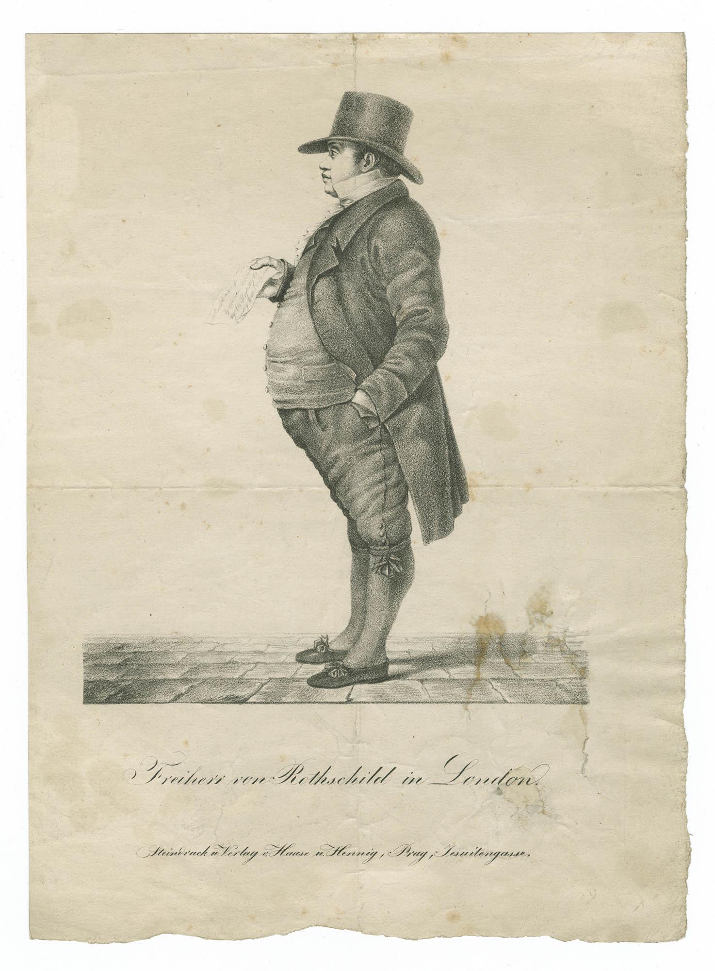 Freiherr von Rothschild in London