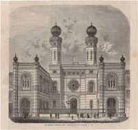 Die Synagoge der Israeliten zu Pest