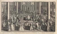 The Dedication of the Portuguese Jews Sinagogue at Amsterdam