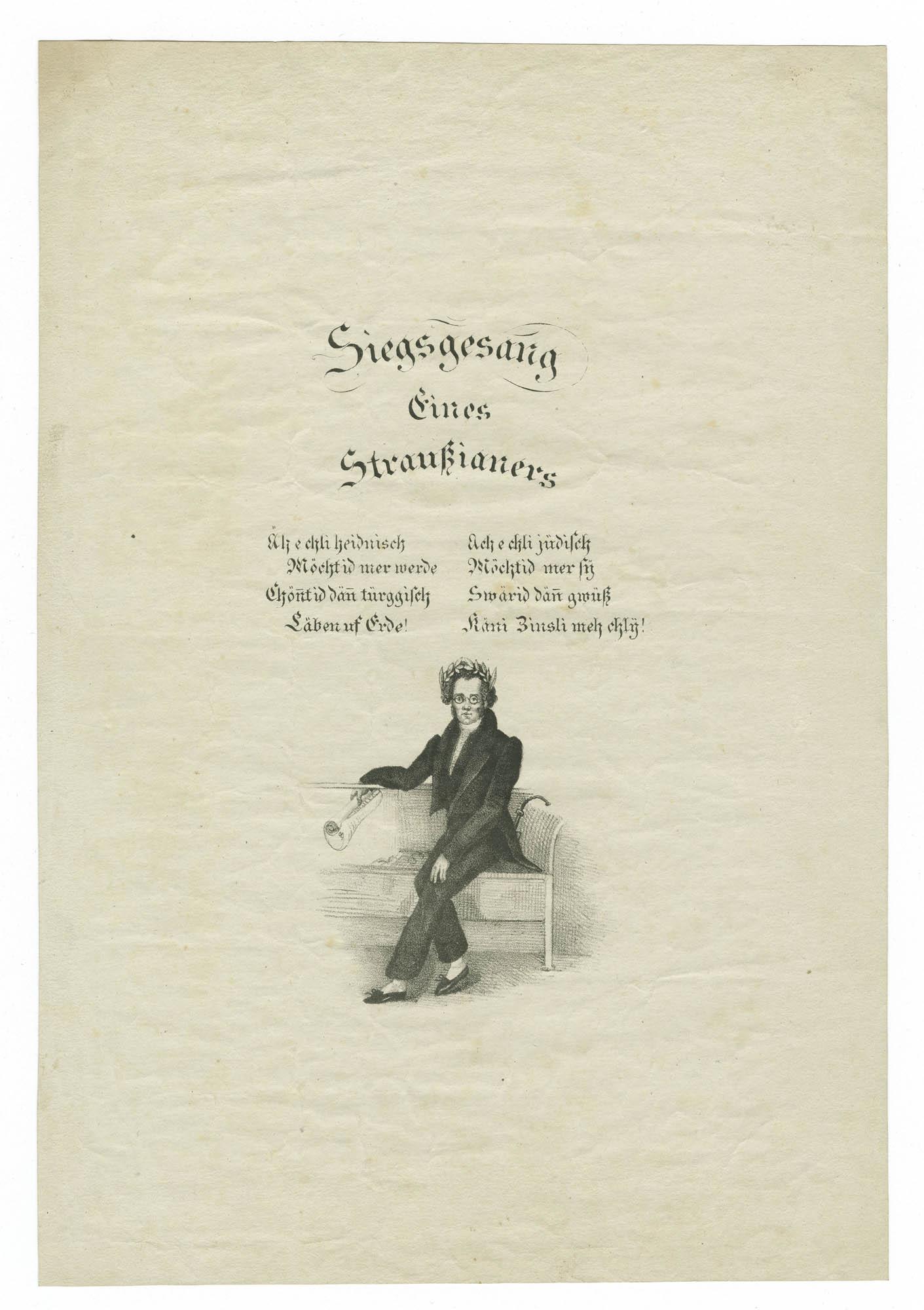 Siegsgesang eines Straussianers