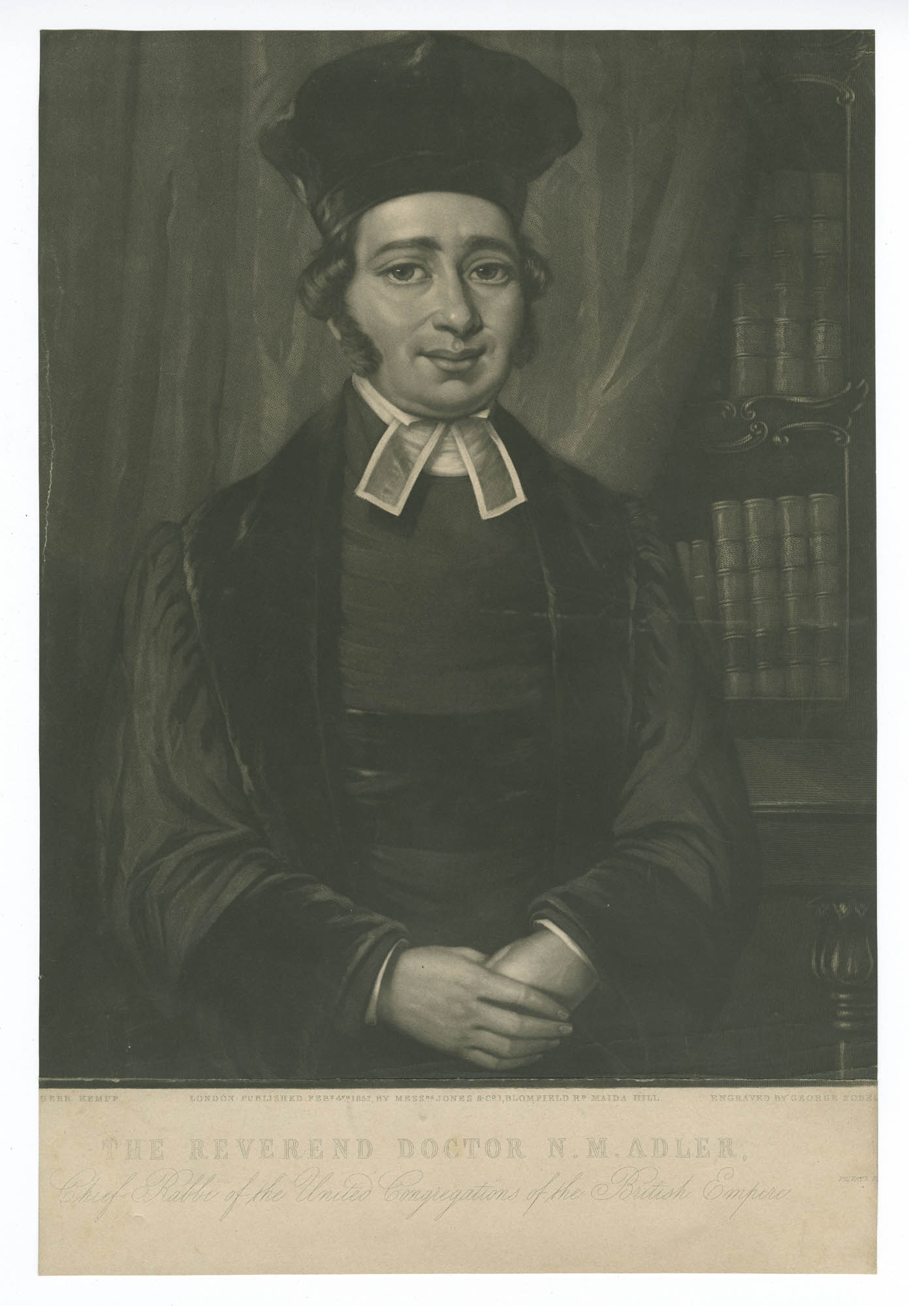 The Reverend Doctor N. M. Adler, Chief Rabbi of the United Congregations of the British Empire