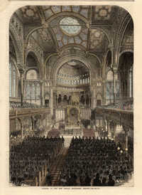 Opening of the New Jewish Synagogue, Berlin