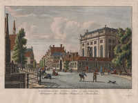 Portugeesche Jooden Kerk te Amsterdam / Synagogue des Israelites Portugais à Amsterdam