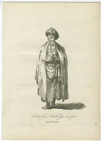 Habit of a Polish Jew in 1768 / Juif Polanais