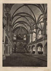 Der Hallenbau der neuen Synagoge in München