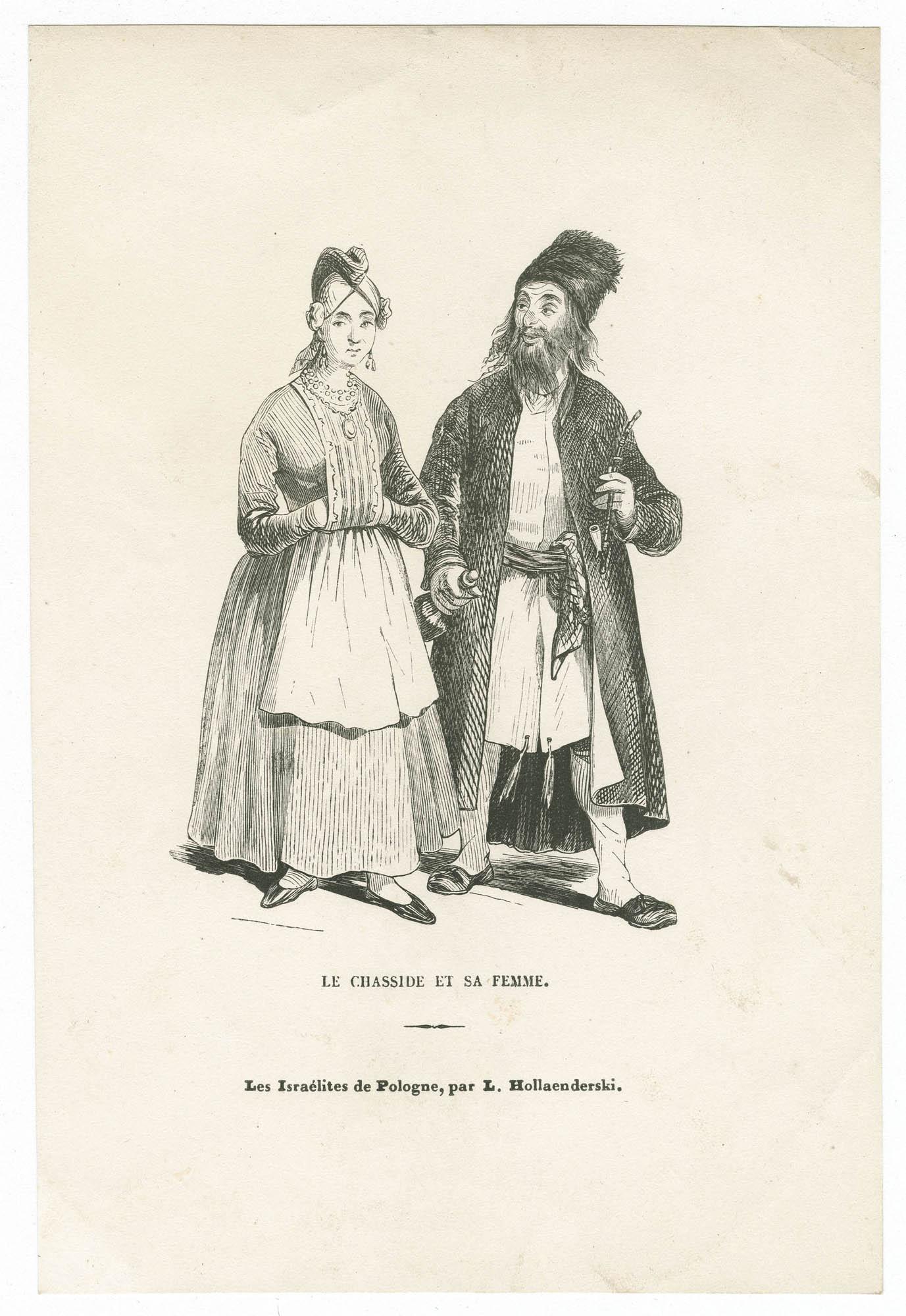 Le Chasside et sa femme