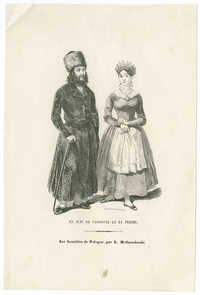 Le Juif de Varsovie et sa femme