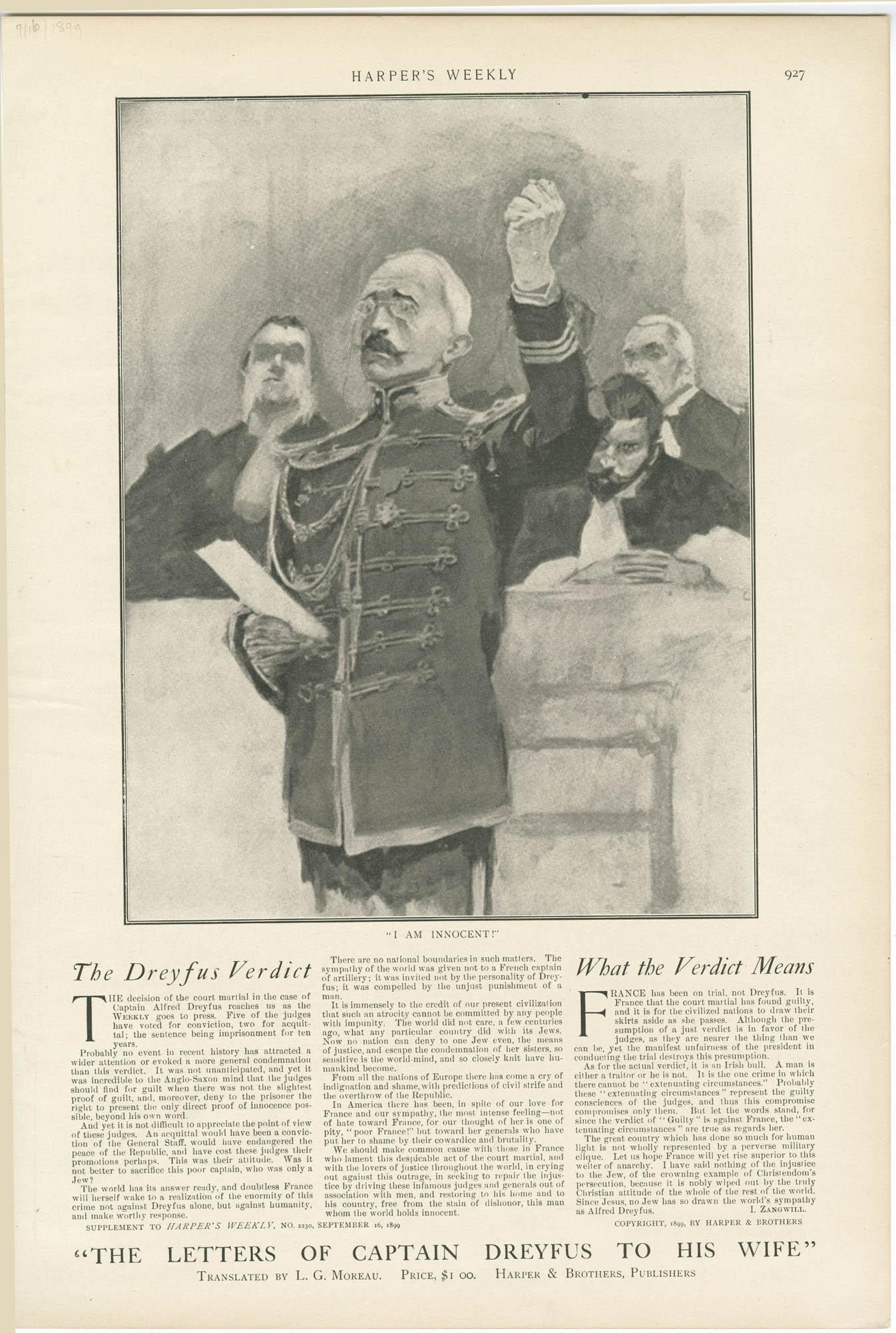 The Dreyfus Verdict