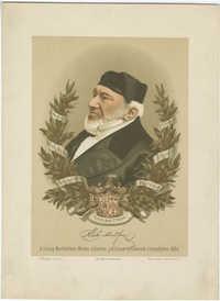 A Lovag Montefiore Mozes százéves jubileum emlékének ünnepélyére 1884
