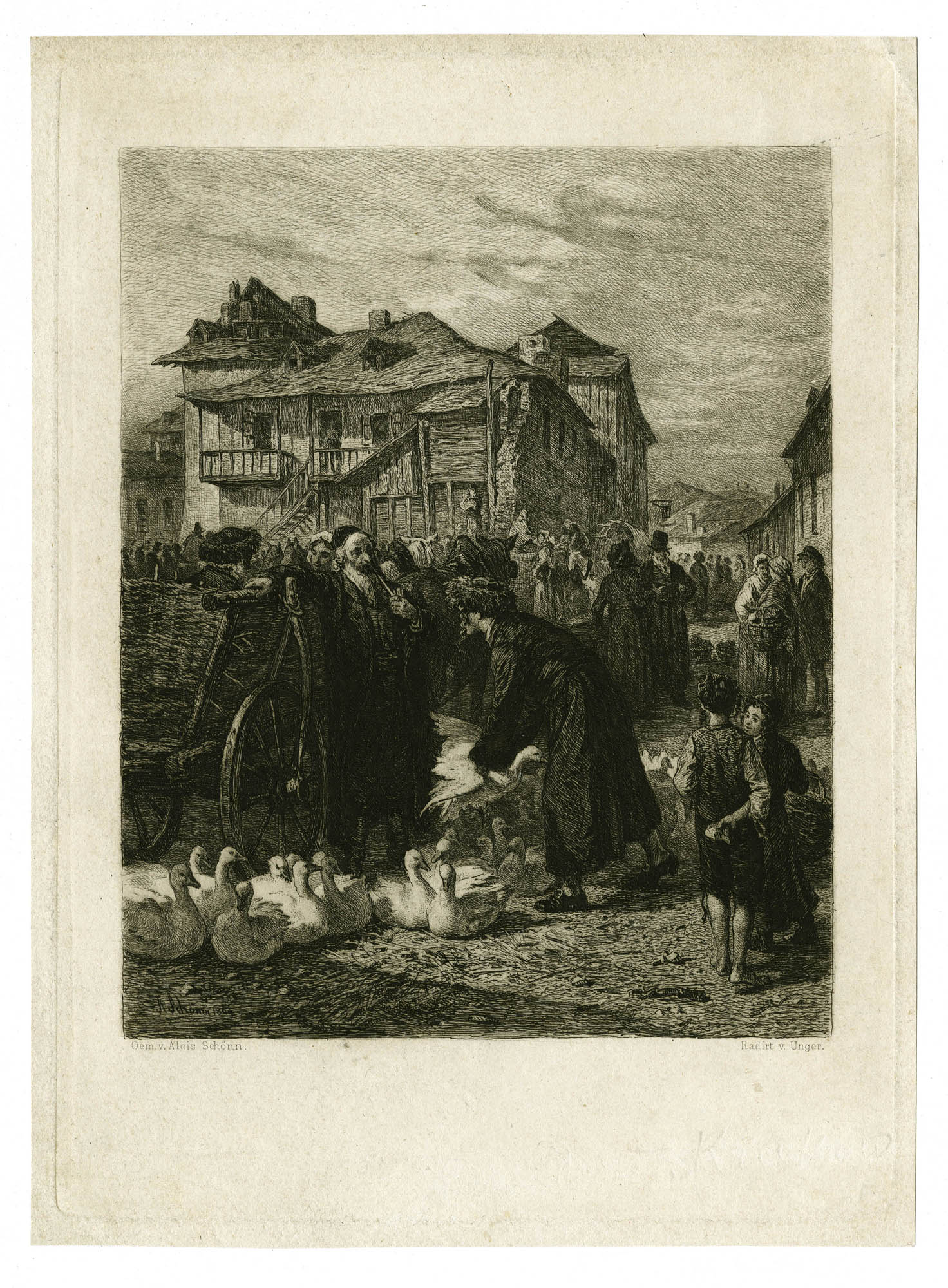 [Goose Market in Cracow]