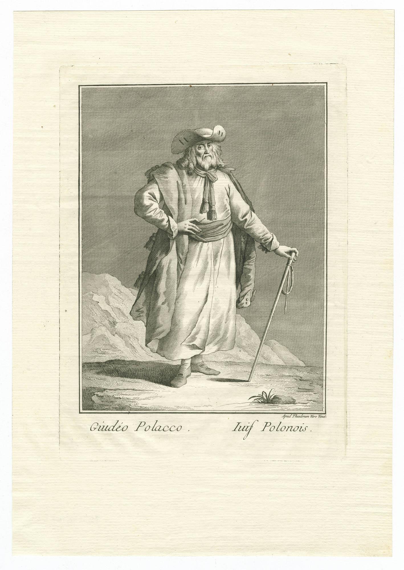 Giudéo Polacco / Juif Polonois