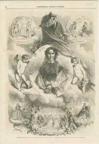 Mademoiselle Rachel, décédée au Cannet, près Cannes, la 3 janvier 1858