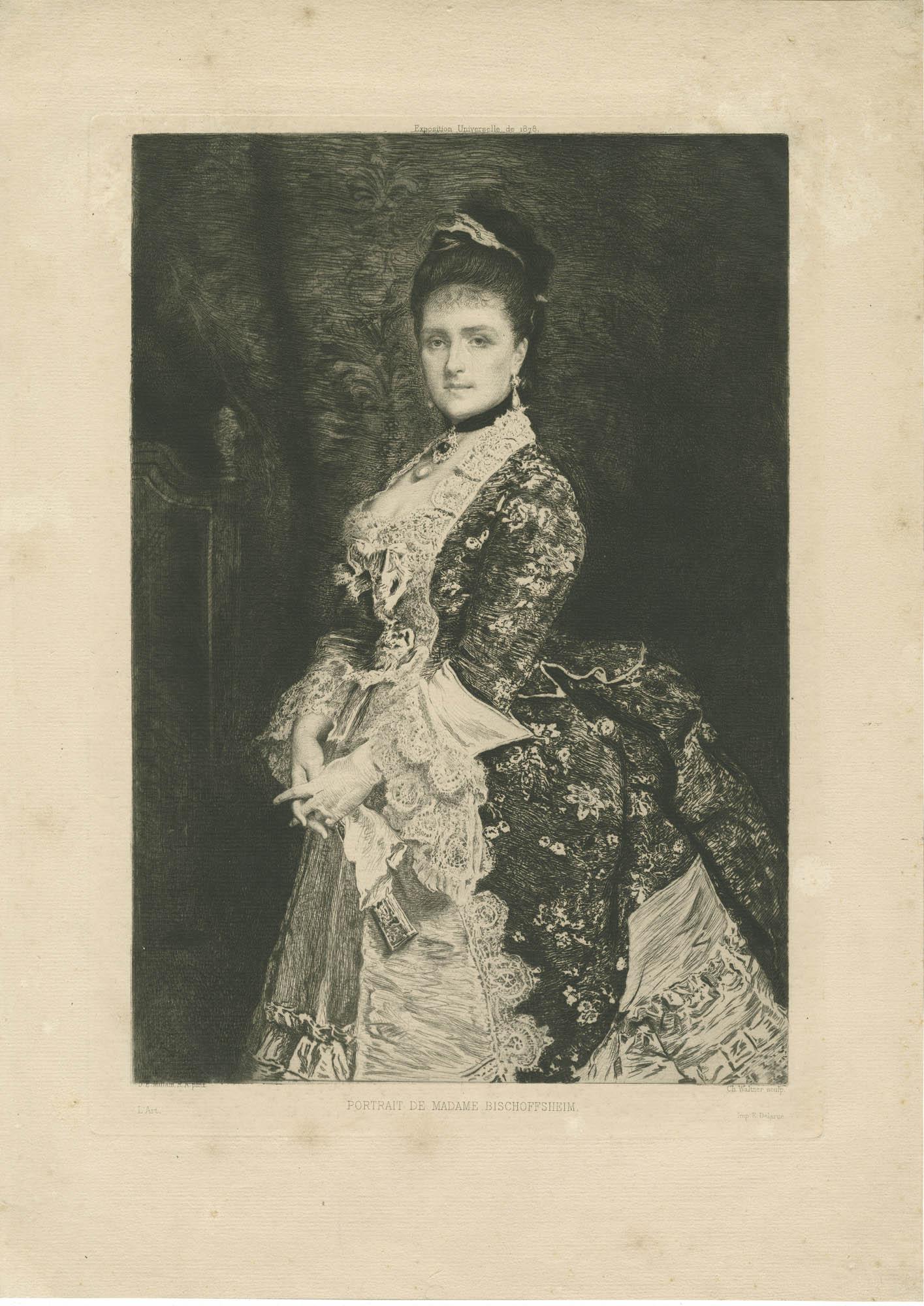Portrait de Madame Bischoffsheim