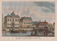 Hoogduitsche Jooden Kerk te Amsterdam / Synagogue des Juifs Allemands à Amsterdam