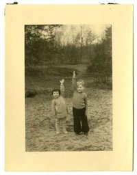 Dientje Krant and Gabriel DeLeeuw, 1945