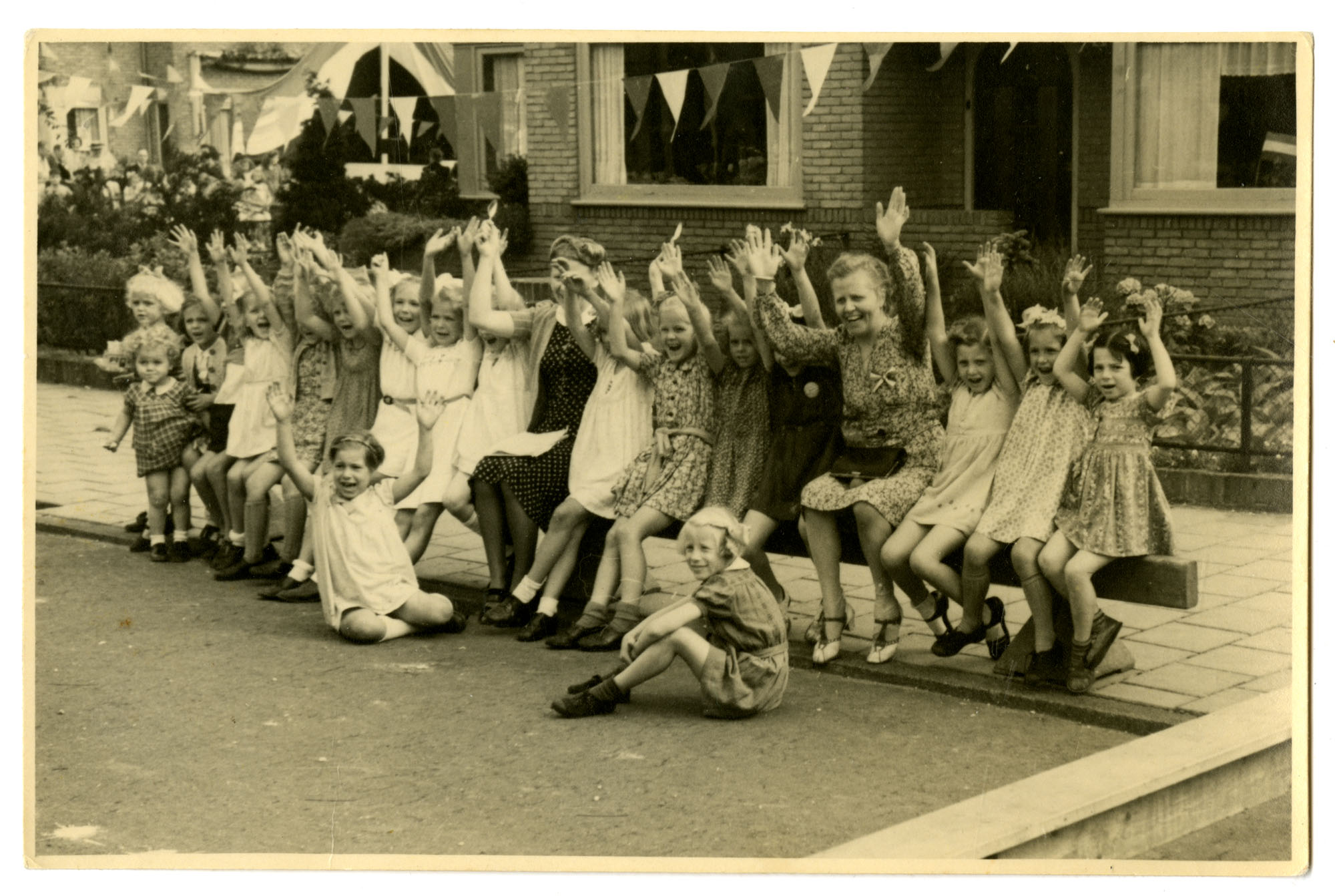 First anniversary of liberation, Bussum, Holland, May 5, 1946