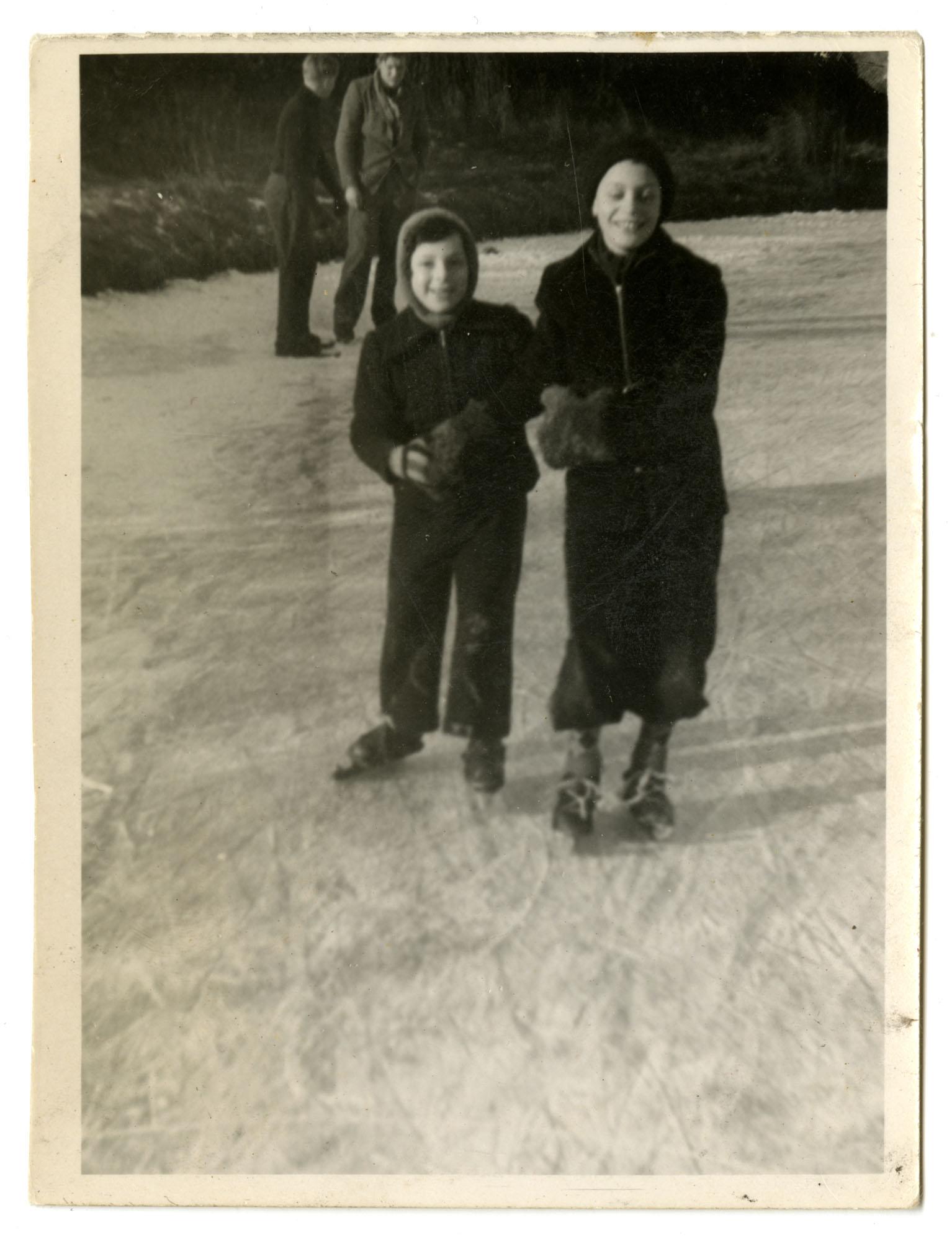 Dientje Krant and Gabriel DeLeeuw, 1948