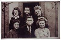 Francine Ajzensztark and friends, 1942