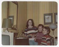 Susan, David, and Adam Semel, 1978