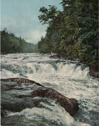 Raquette Falls, Adirondack Mountains