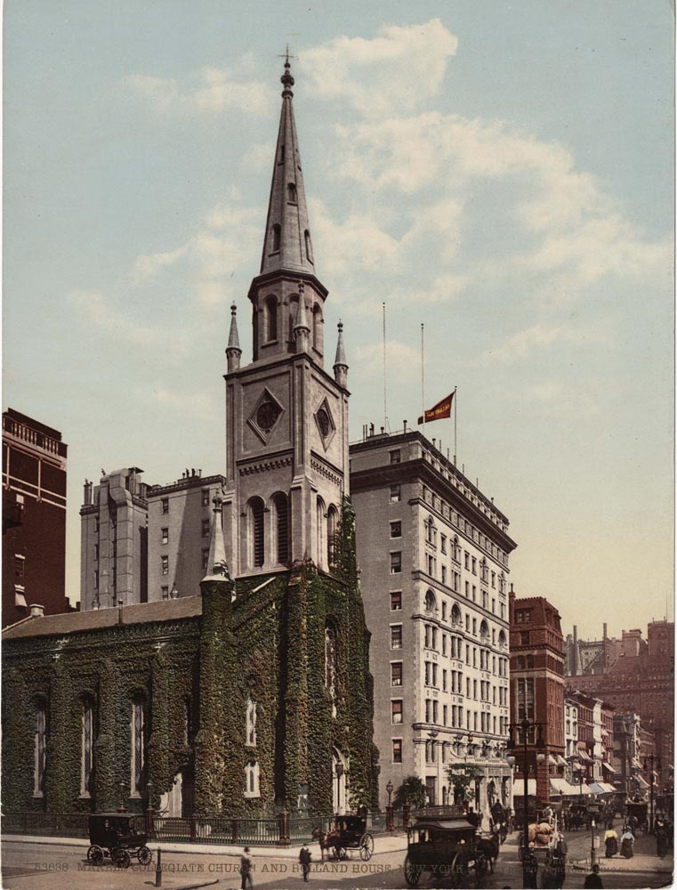 Marble Collegiate Church and Holland House, New York