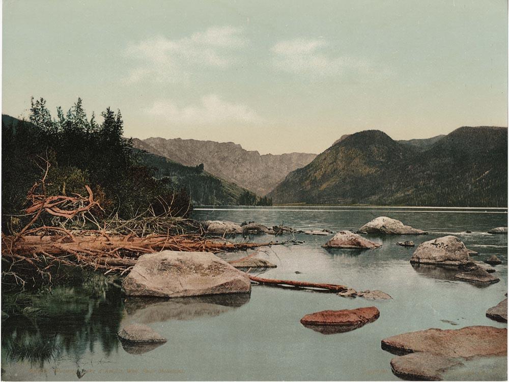 Wyoming.  Lake d'Amalia, Wind River Mountains