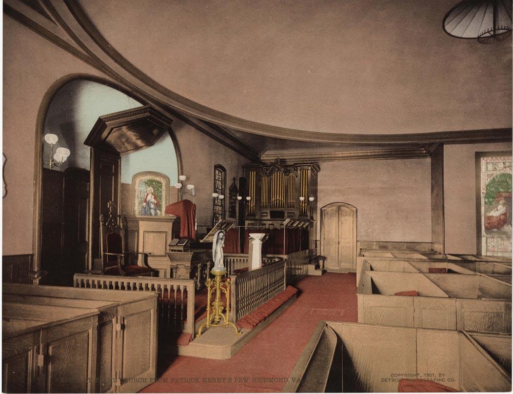 St. John's Church From Patrick Henry's Pew, Richmond, Va.