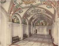 Library of Congress. North Hall, Entrance Pavilion