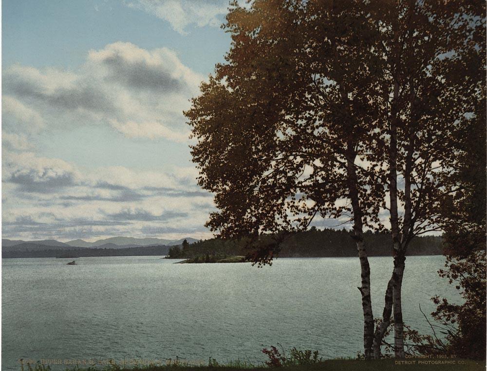 Upper Saranac Lake, Adirondack Mountains