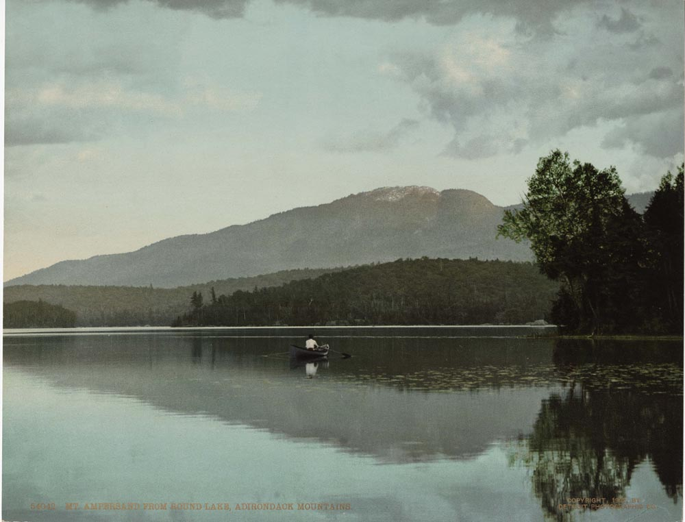 Mt. Ampersand from Round Lake, Adirondack Mountains