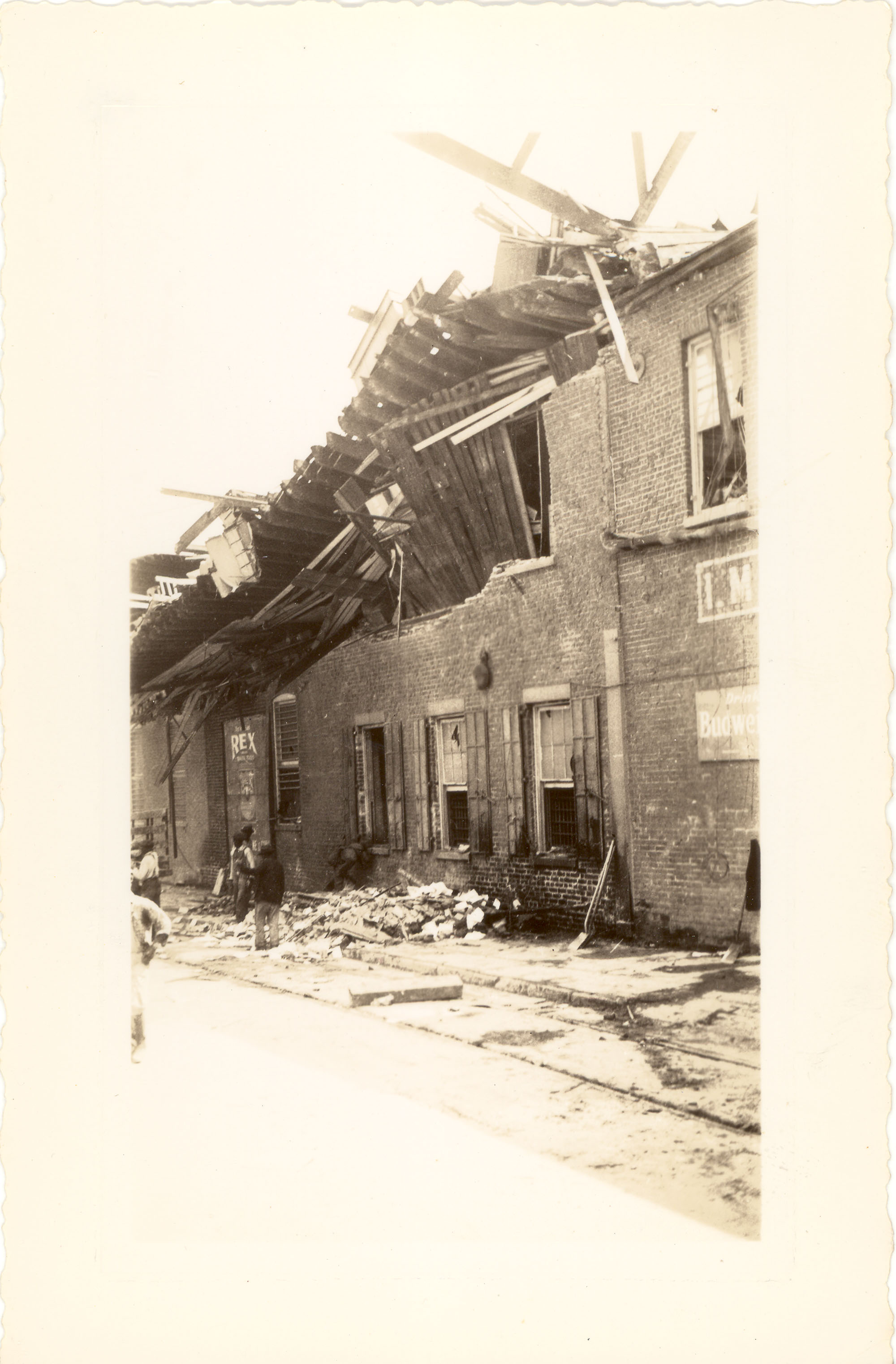 I.M. Pearlstine Building After the 1938 Tornadoes