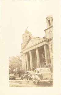 First Scots Presbyterian Church After the 1938 Tornadoes
