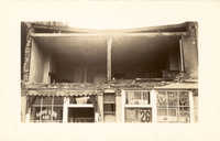 Sing Lee Laundry (133 King Street) After the 1938 Tornadoes