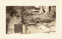 Ruins of 45 State Street After the 1938 Tornadoes