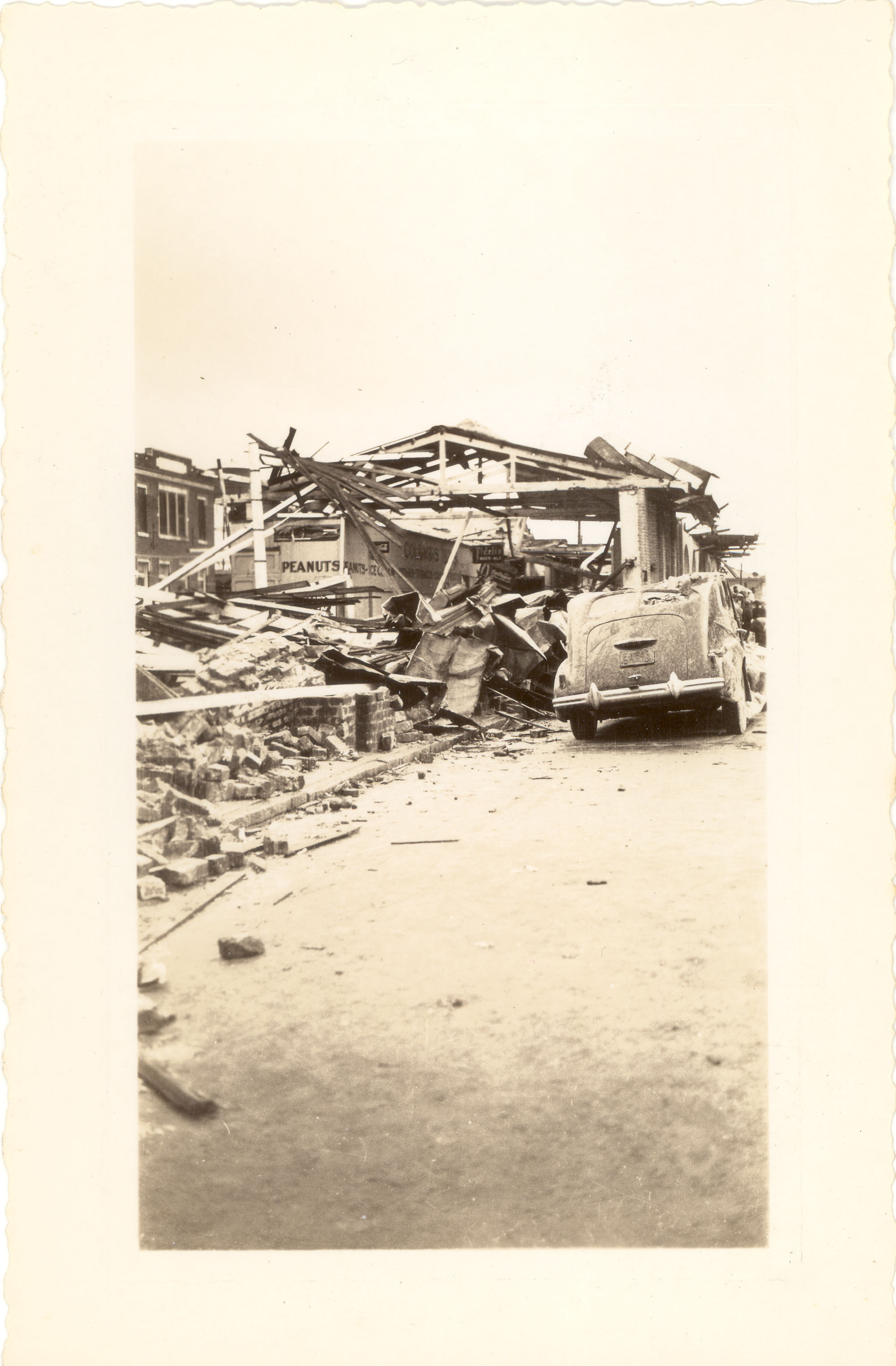 Market Street After the 1938 Tornadoes