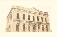 City Hall After the 1938 Tornadoes