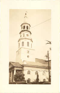 St. Michael's Church After the 1938 Tornadoes