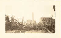 Washington Square Park After the 1938 Tornadoes