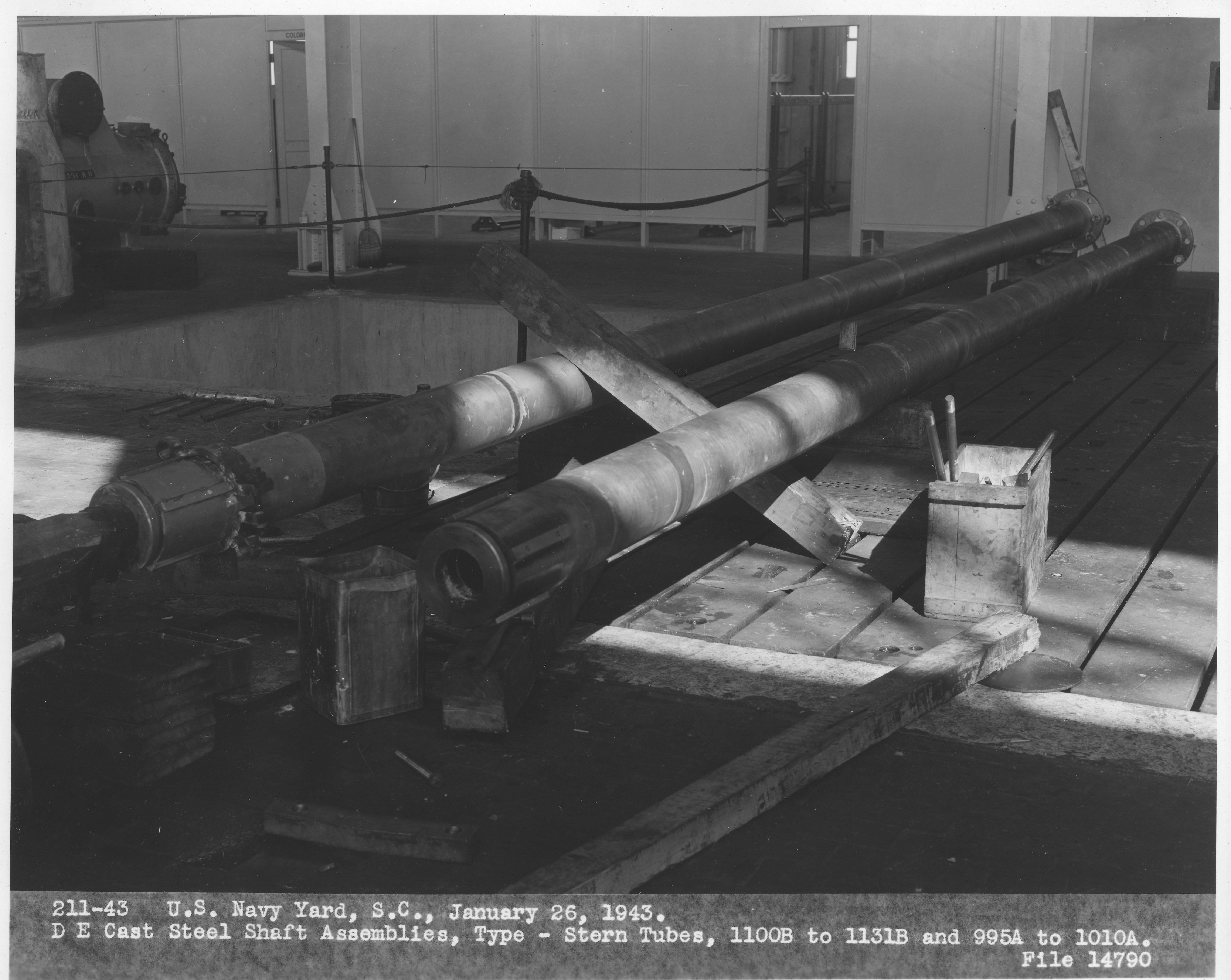 DE Cast Steel Shaft Assembly