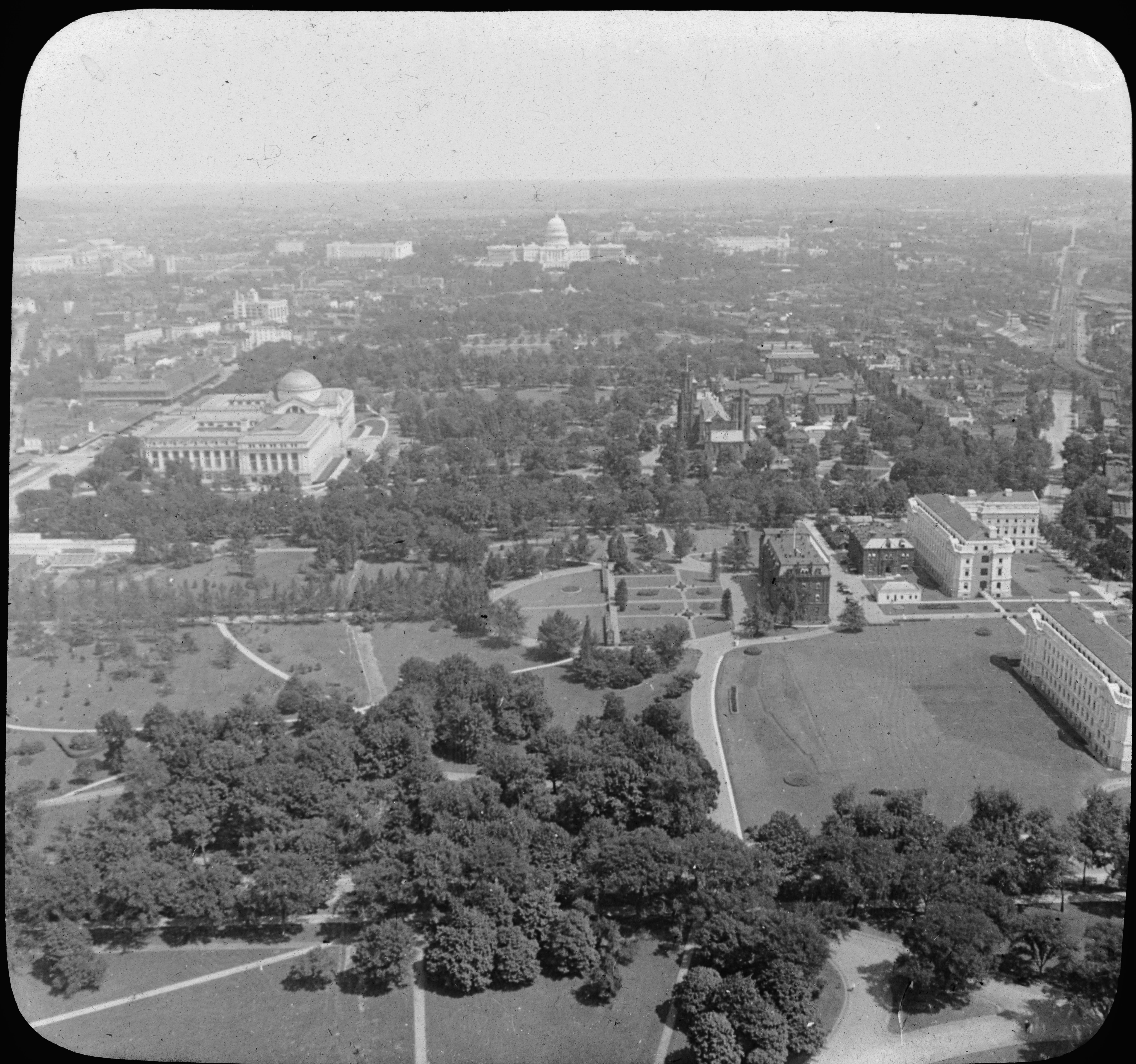 From Washington Monument East to Capitol, Washington, D.C.